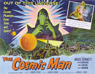 The Cosmic Man (1959) poster
