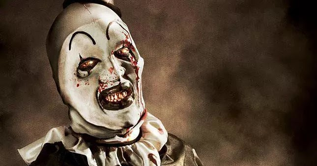 the horrors of halloween art the clown posters artwork