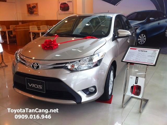 Toyota Vios 2015 được cung cấp chính hãng với đủ 4 phiên bản