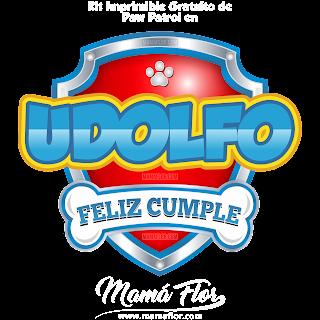 Logo de Paw Patrol: UDOLFO