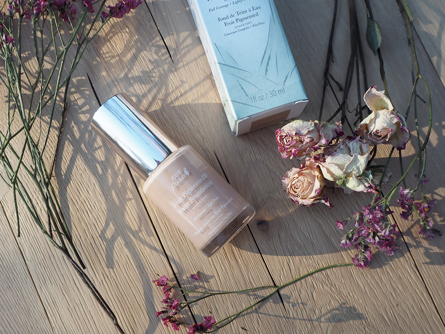 100% Pure Full Coverage Water Foundation