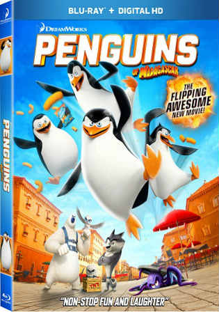 Penguins Of MadaGascar 2014 BluRay 280MB English Movie 480p Watch Online Full Movie Download bolly4u