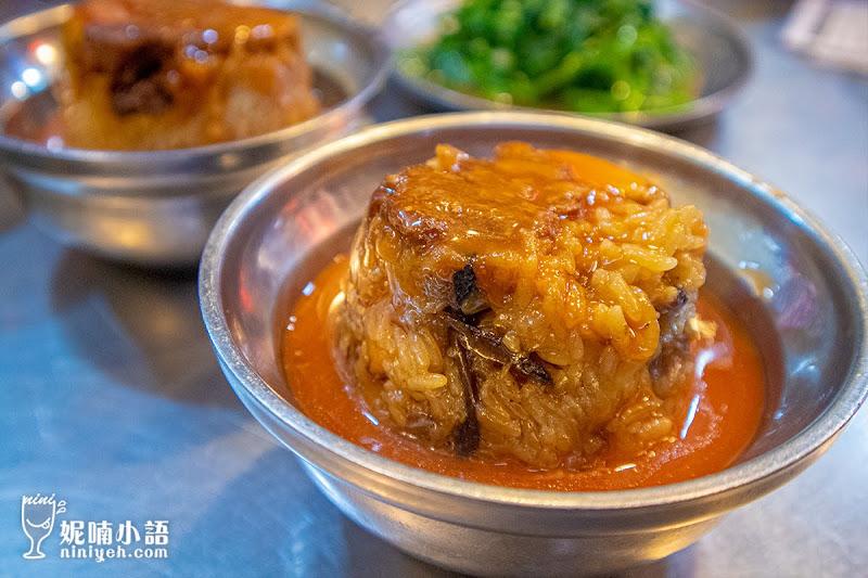 【南機場夜市美食】曉迪筒仔米糕。米飯控必收藏好吃到掉渣