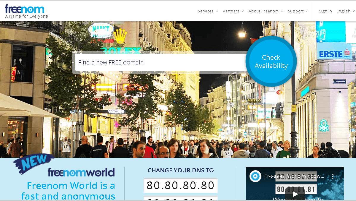 Cara mendaftar domain gratis di Freenom