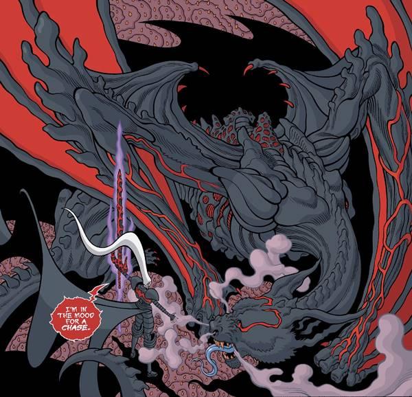 Knull Dios de los Simbiontes crea a All Black y a los Dragones Simbiontes