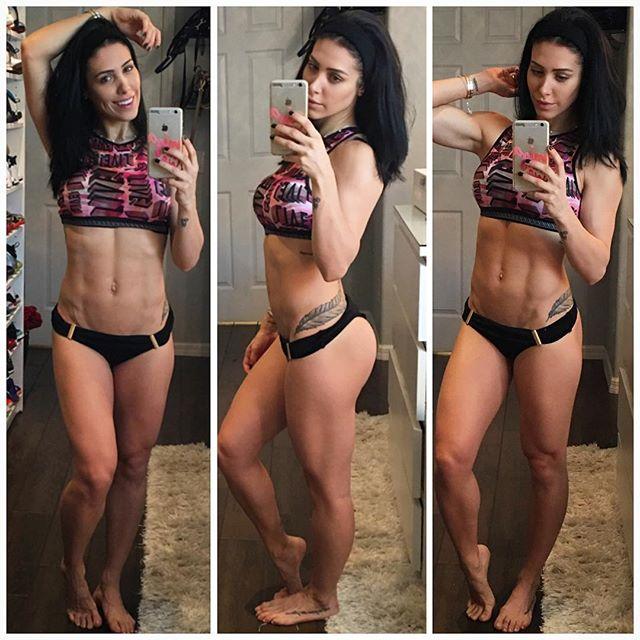 Fitness Model Bella Falconi photos