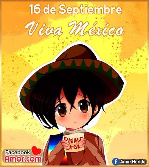 16 de septiembre viva México