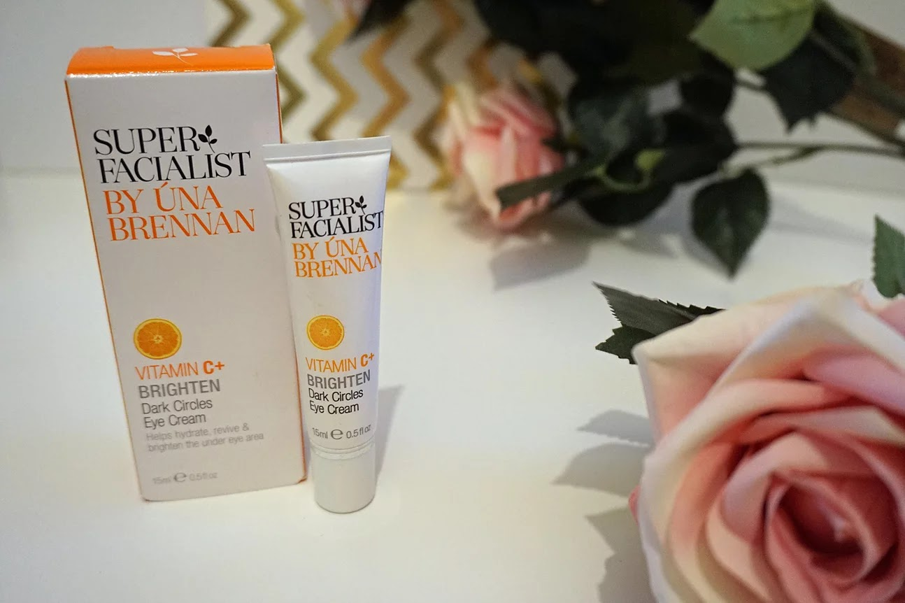 Super Facialist vitamin c brighten dark circles eye cream