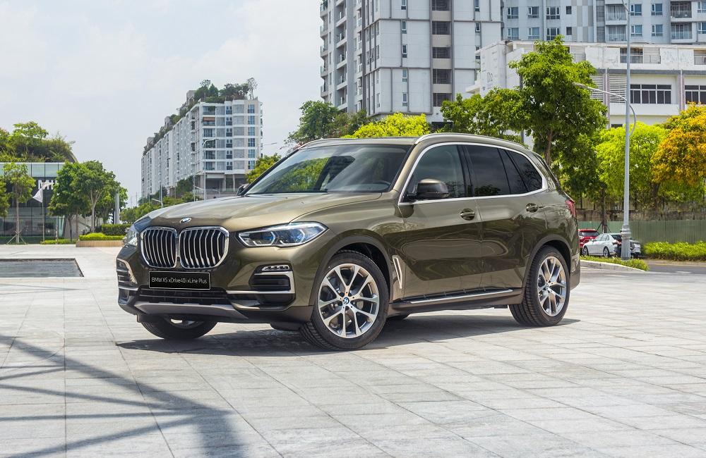 BMW X5 lọt top 10 xe SUV hạng sang tốt nhất năm 2020