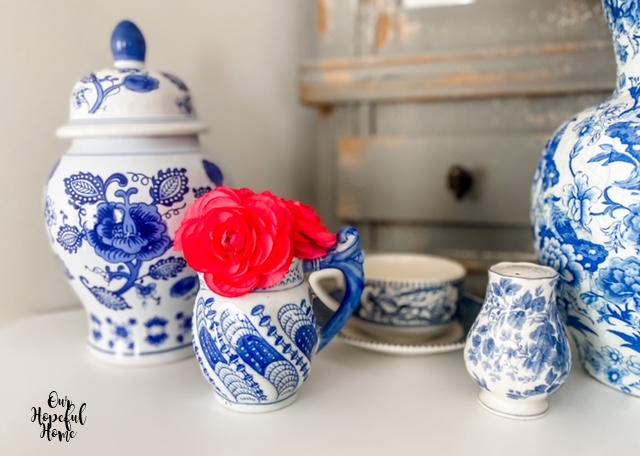 chinoiserie ginger jar lid creamer tea cup vase