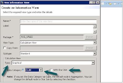 SAP HANA Calculation View
