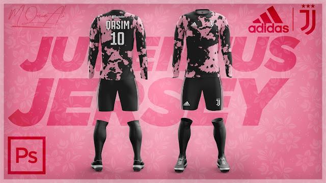Adidas's Juventus Third Jersey Design in Photoshop cc 2019 by M Qasim Ali