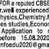 CBSE School in Perambur wanted well experienced PGTs immediately