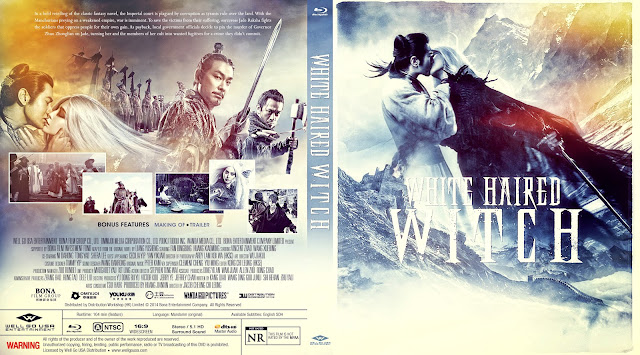 The White Haired Witch of Lunar Kingdom Bluray Cover