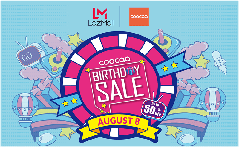 Coocaa announces anniversary sale with up to 50 percent off on select items!