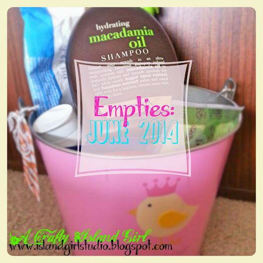 Empties: Products We Used Up | June 2014