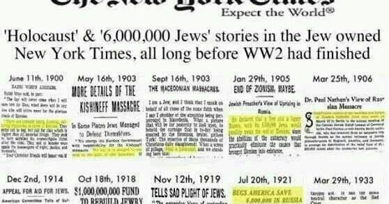 Image result for six million jews-predictive programming 1915-1938 hd