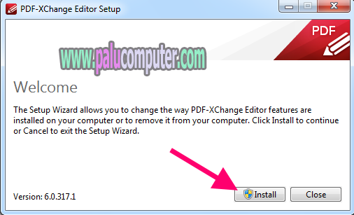 instal pdf xchange editor