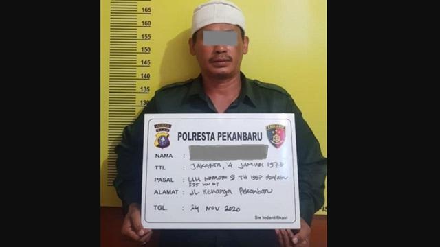 Bubarkan Deklarasi Tolak HRS, Ketua FPI Pekanbaru jadi Tersangka terkait Kebebasan Berpendapat