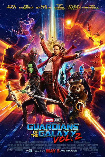 Poster Guardians of the Galaxy: Vol. 2 2017 Full Movie Download Dual Audio