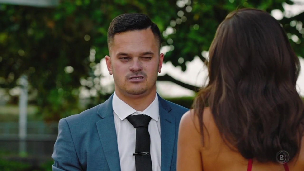 AusCAPS: Elliott Gilchrist nude in The Bachelorette New