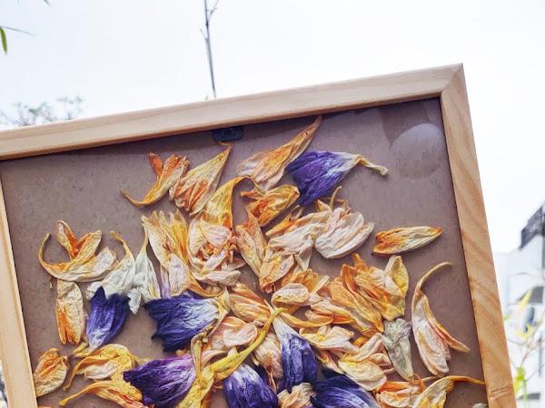 #Tuto : Un cadre fleuri