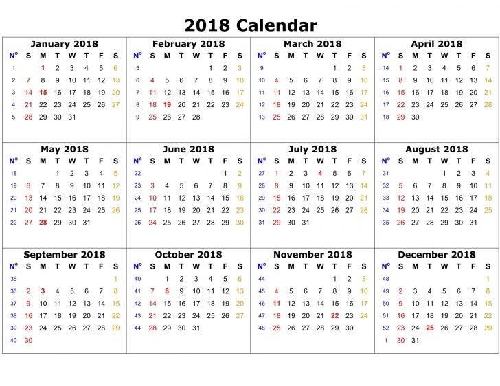 2018 event calendar of some major international marathons