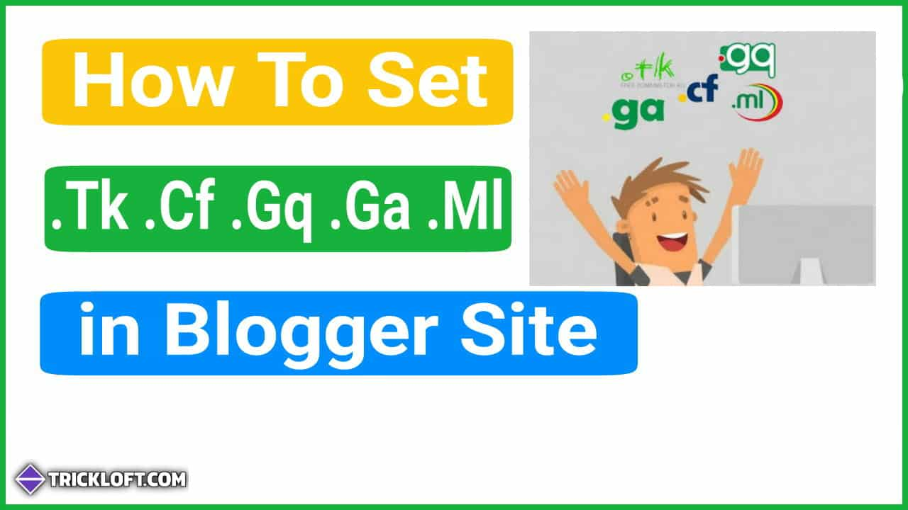 set free custom domain blogger