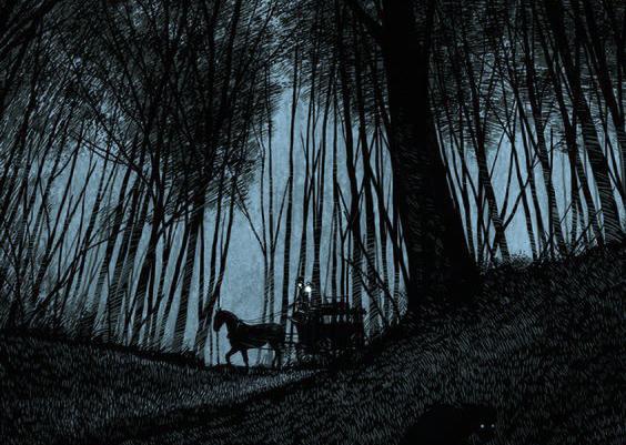 Luminarias Nocturnas. Historia de Eiel Bellaure. Carro
