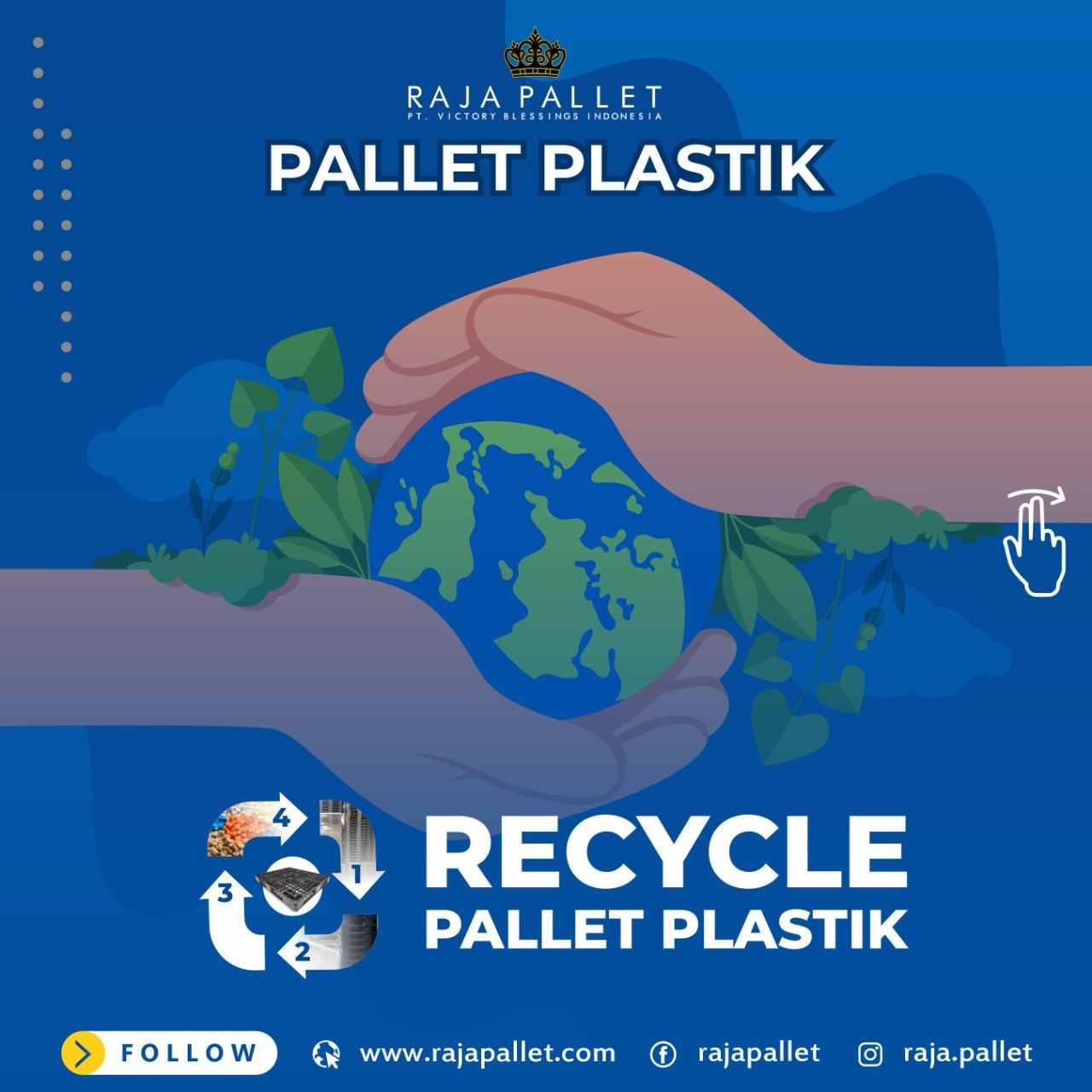 Pallet Plastik Baru Rajapallet Ramah Lingkungan Harga Murah