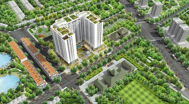 Phối cảnh tổng thể dự án Athena Complex