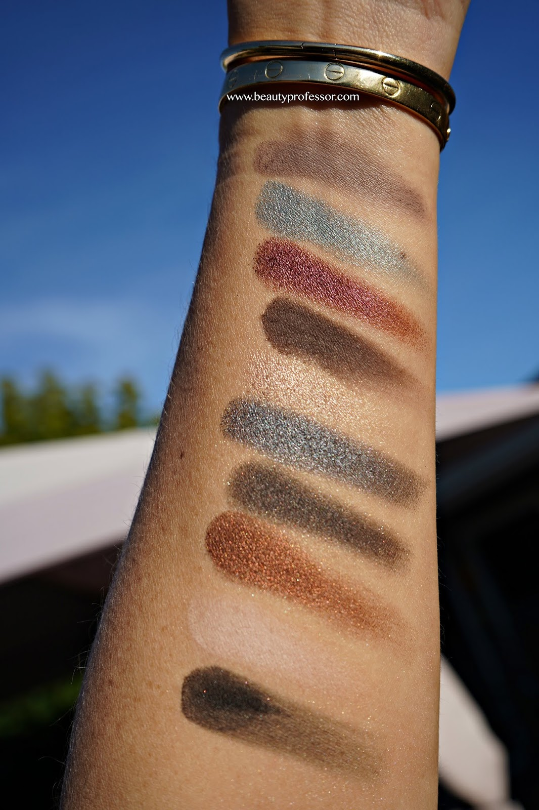 by terry  paris by night palette swatches