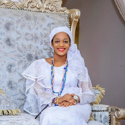 Beautiful New Photo Of Ooni of Ife's Wife
