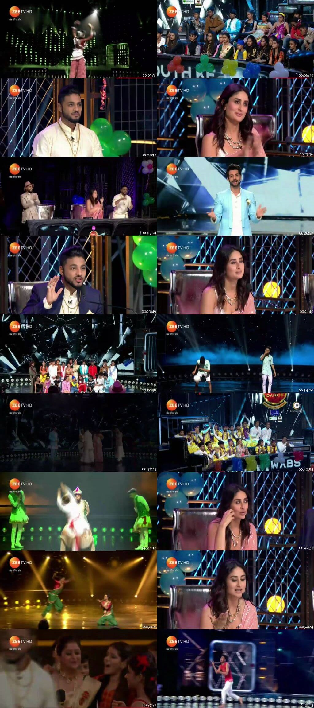 Screenshots Of Hindi Show Dance India Dance Battle of the Champions Season 7 11th August 2019 Episode 16 300MB 480P HD