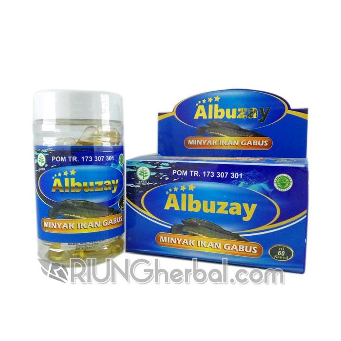 Kapsul Minyak Ikan Gabus / Kutuk Albuzay