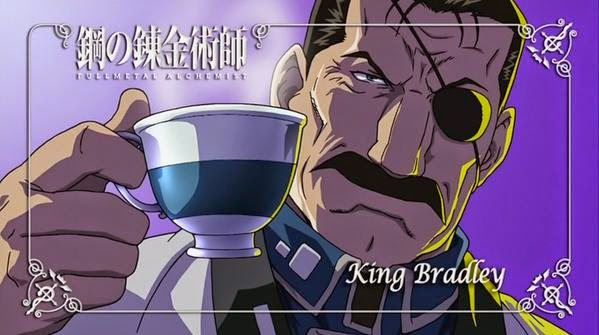 Full Metal Alchemist Brotherhood King Bradley