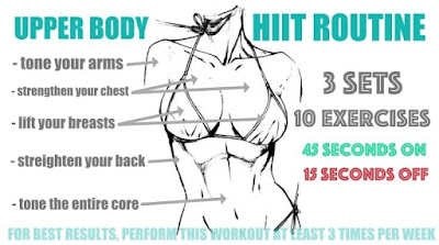 Try This Amazing Upper Body HIIT Routine