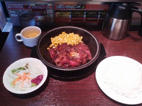 ワイルドステーキ¥1,080-2 いきなりステーキ岐阜茜部店