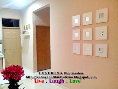 Lya Afrina Idea Wall Deko Cermin Malma Ikea