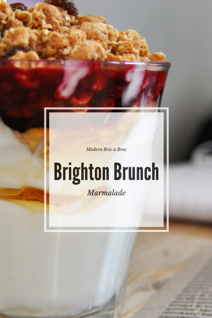 Brighton Brunch - Marmalade, Kemptown photo by modern bric a brac