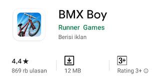 Game BMX Boy