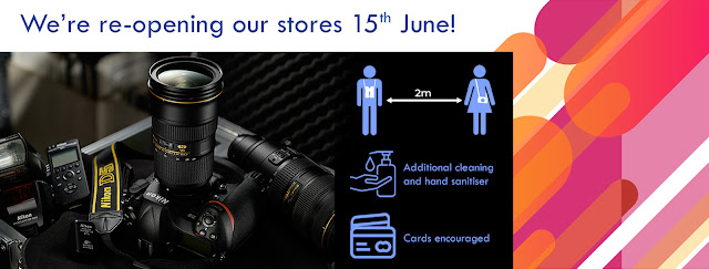 Park Cameras Stores Reopening June 15th 2020