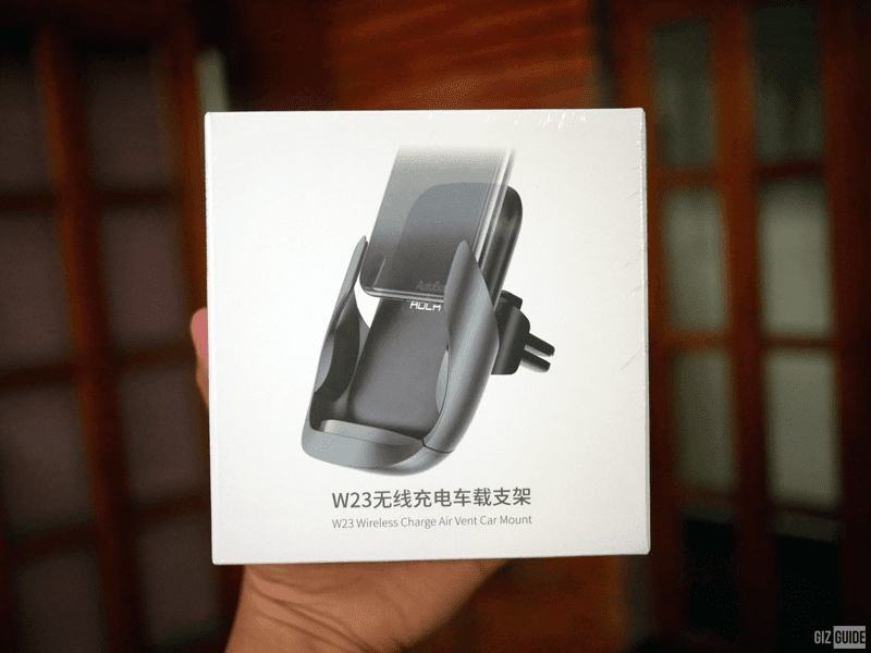 W23 Quick Wireless Charger Car Mount