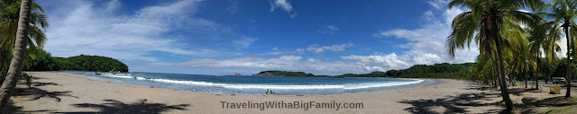 Traveling to Playa Carillo with a Big Family with Small Children