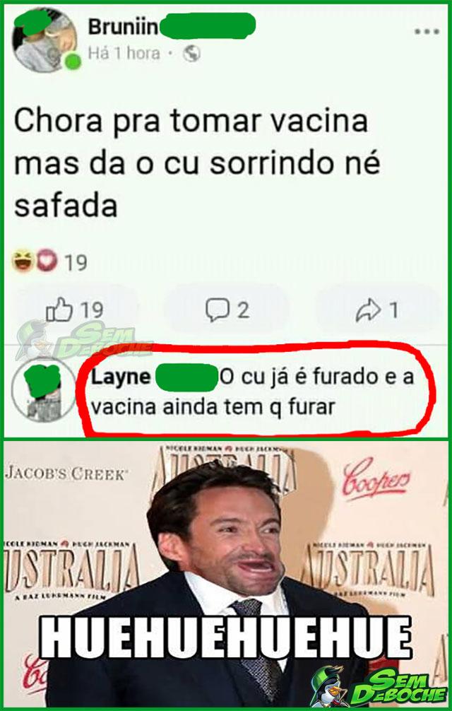 UM BURACO JÁ ESTÁ FEITO