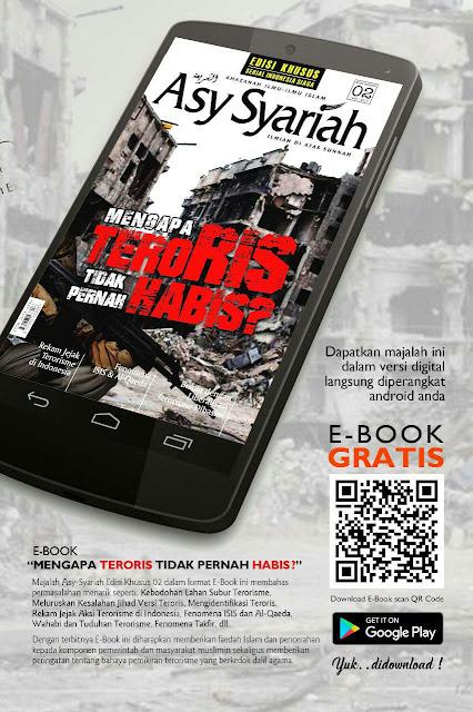 """Ebook PDF Majalah Asy Syariah """"Mengapa Teroris Tidak Pernah Habis?"""""""