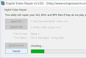 Digital Video Repair Mpeg 4 dan AVI videos