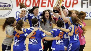 HOCKEY PATINES - CERH European Cup femenina 2016/2017: El Voltregá sigue indomable en Europa revalidando y tomando su 5º título