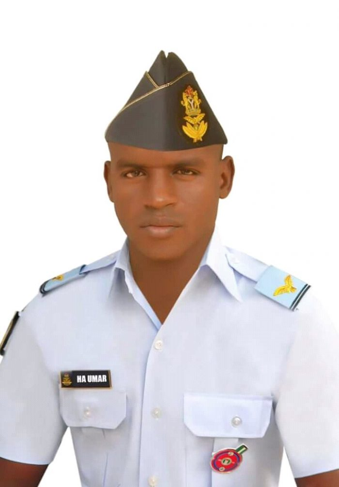 Photos of Air Force Officer Declared Missing in Abuja