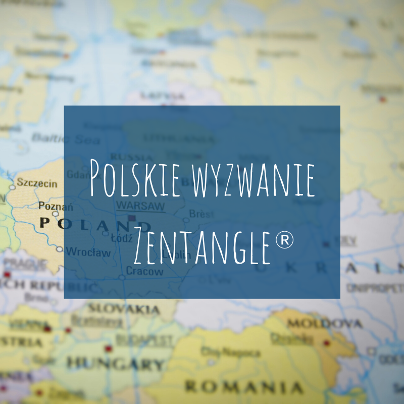 Polskie wyzwanie Zentangle